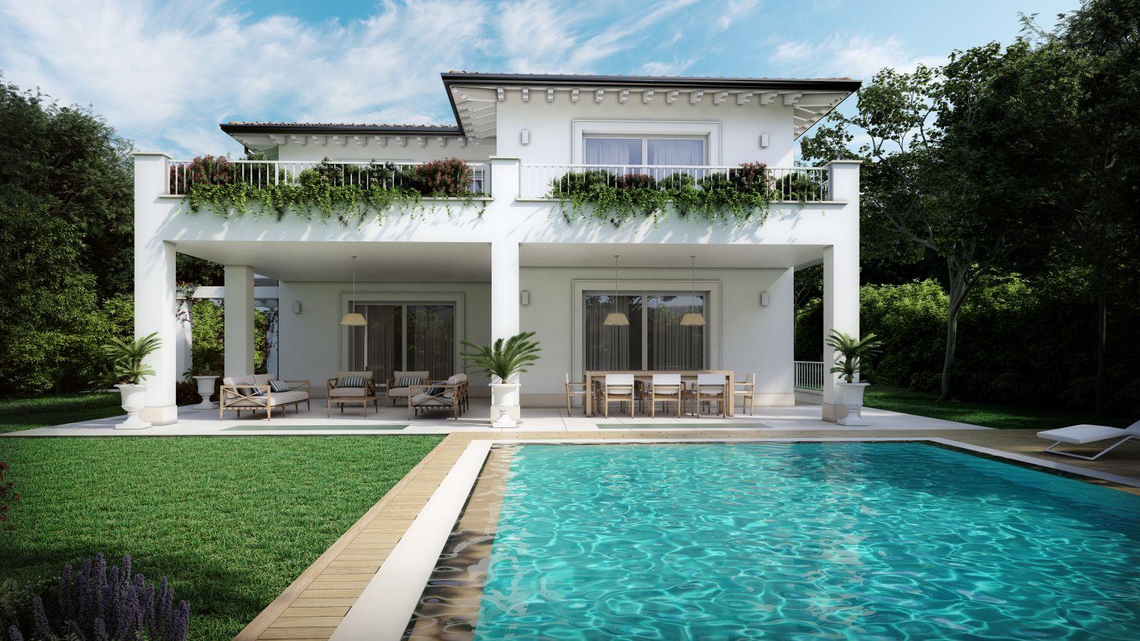Villa A Tre Piani lux 4 home · costruzioni